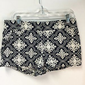J crew NWOT city fit floral print shorts Size 6